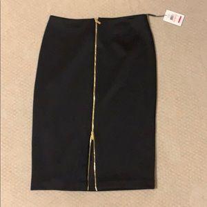 Very feminine black skirt